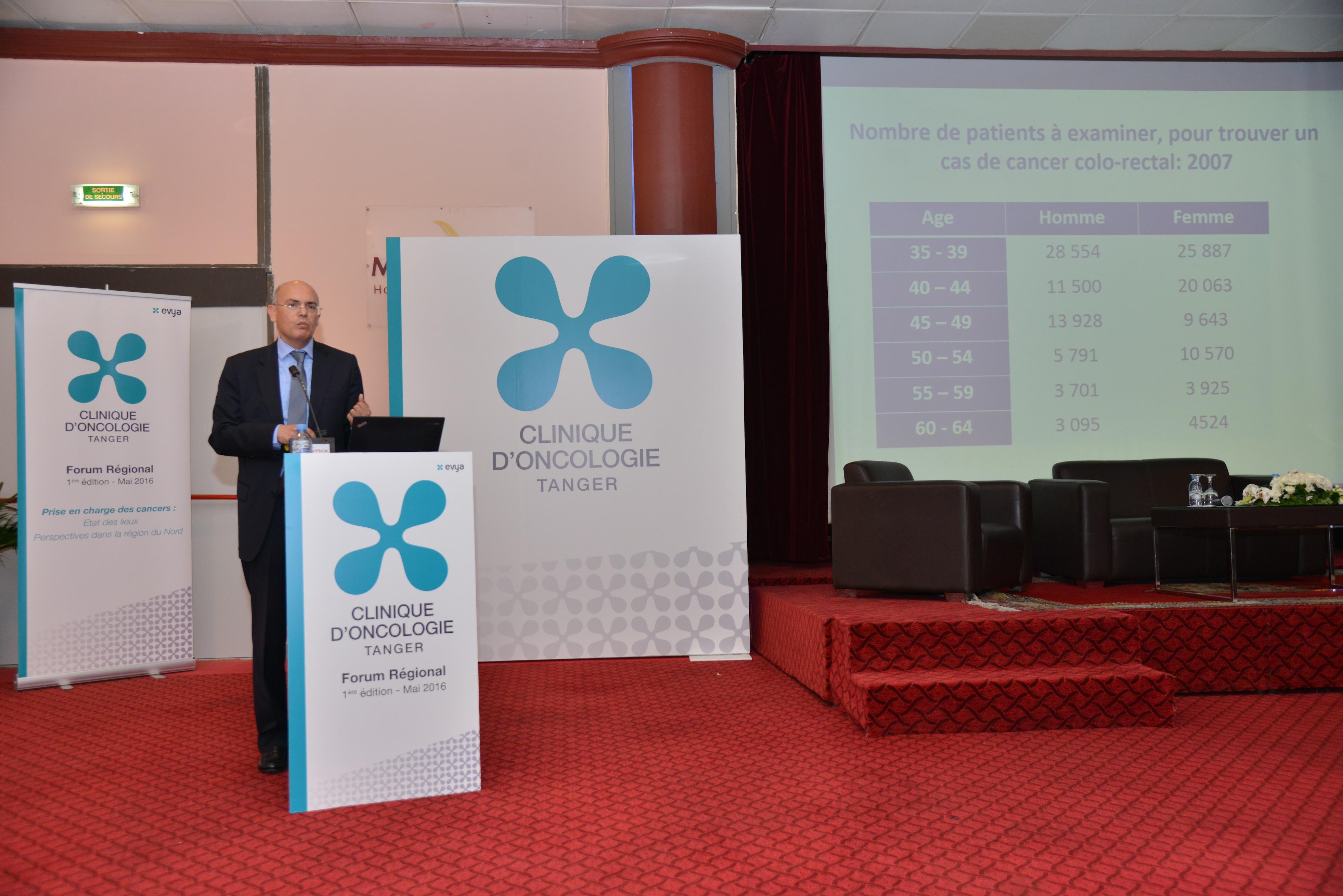La Clinique d'Oncologie de Tanger tient son 1er Forum Régional d'Oncologie